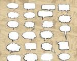 دانلود 30 براش حباب گفتار فتوشاپ