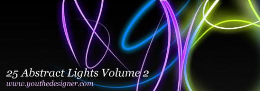 دانلود 25 براش نورهای آبستره - قسمت 2
