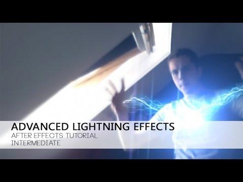 آموزش ویدیویی After Effects قسمت اول - افکت های نورپردازی حرفه ای
