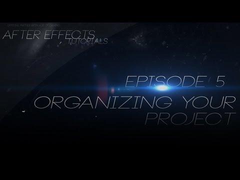 دانلود آموزش مقدماتی و ویدیویی After Effects – قسمت 5 – سازمان دهی به پروژه هایتان