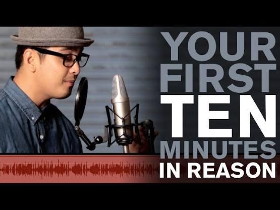 آموزش ویدیویی Reason - ده دقیقه اول شما در Reason