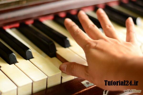 آموزش انگشت گذاری کیبورد