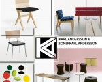 نیمکت و صندلی Karl Andersson & Söner