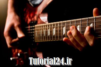 آموزش گیتار الکتریک تصویری