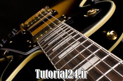 یادگیری گیتار الکتریک