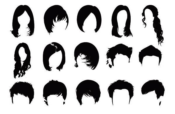 دانلود 15 براش مو کیفیت بالا
