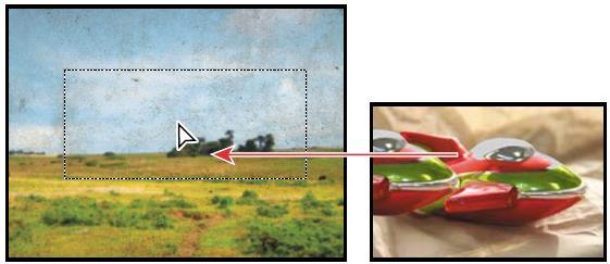 تبدیل ناحیه ی انتخابی به یک لایه3
